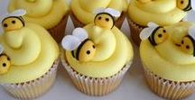 Bee Party / Bee party inspiration. Decor, cakes and food with a couple of diy's