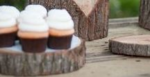 Cupcake stand / Beautiful cupcake displays. How to make your own or how to use them in different ways.