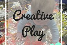 Creative Play / Creative play ideas for children - easy creative play, creative play tips, creative play for babies, creative play for toddlers, creative play activities, messy play, kids crafts, easy crafts
