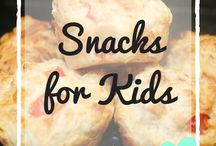 Snacks for Kids / Snack ideas for children, including toddler snacks, sweet treats, savoury snacks for kids, packed lunch ideas