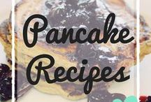Pancake Recipes / Delicious pancake recipes for all the family - includes pancake breakfast ideas, pancake day ideas, healthy pancake recipes, snack recipes, dessert pancakes.