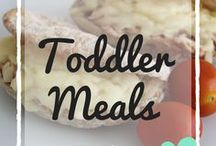 Toddler Meals / Recipes and ideas suitable for toddlers - toddler friendly meals, toddler snacks, breakfast ideas, quick lunch ideas