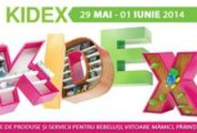 KIDEX la ROMEXPO / Cel mai vesel targ pentru copii - KIDEX, expozitia de produse si servicii pentru bebelusi, viitoare mamici, parinti si copii are loc la ROMEXPO http://www.kidex.ro/ / by Romexpo Bucuresti