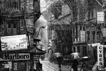 Rain / by Katie Wagner