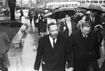 Dr. Martin Luther King Jr. / Manchester University was the last college or university that Dr. King spoke at on February 1, 1968. / by Manchester University