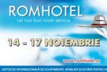 ROMHOTEL 2013 / Desfasurat intre 14 si 17 noiembrie, ROMHOTEL – Expozitia internationala de echipamente, dotari si mobilier pentru hoteluri si restaurante, evenimentul isi asteapta deopotriva expozantii si vizitatorii pentru patru zile ce vor fi un adevarat barometru al domeniului.  Va asteptam la ROMHOTEL! Program de vizitare: 14.11.2013 – 16.11.2013 intre orele 10:00 – 18:00. www.romhotel.ro https://www.facebook.com/pages/Romhotel  / by Romexpo Bucuresti