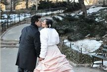 Winter Elopement in Central Park