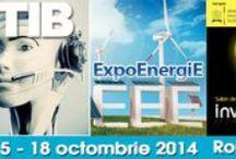 TIB, ExpoEnergiE & Inventika 2014 ROMEXPO / In perioada 15 – 18 octombrie, ROMEXPO a organizat trei manifestari expozitionale dedicate tehnologiei pe toate planurile: TIB – Targul Tehnic International Bucuresti – eveniment ajuns la editia cu numarul 40;  ExpoEnergiE –Targ international de energie regenerabila, energie conventionala, echipamente si tehnologii pentru industria de petrol si gaze naturale; Inventika – Salon de Inventii si Inovatii  / by Romexpo Bucuresti