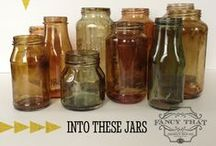 #Mason Jar/Crafts & Gifts / Crafts & Gifts to make using Mason Jars. May include food items. / by Angel Graham