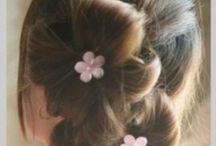 Ideer til langt hår / Ideer til pigernes hår