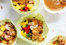 Food: Salads, Wraps, Bowls