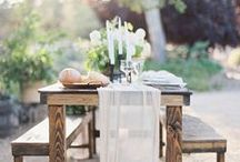 Guest tables / Make your guests feel special with detailed table settings and decor for your tables!