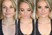 MU by Ashleigh -Before & Afters / Before and After makeup for weddings and photoshoots
