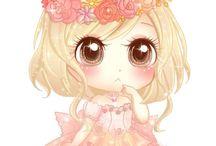 Manga baby doll