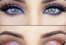 Green beautiful eyes