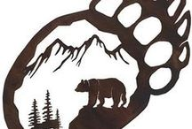 Медвежий угол / эскизы тату