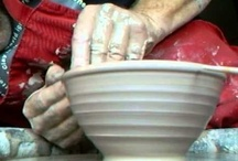 clay handmade ceramics pottery / Learning On The Potters Wheel / by Laurie P Cotros