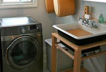Home // Laundry Room / by Donya Gjerdingen