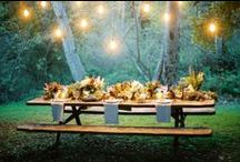 Summer Picnic / Finally...it's summer, so let's plan a picnic party. Here are lots of inspiring ideas for a magnificent one.