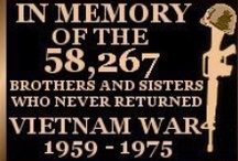 Nam / I'm part of the Hell No, We Won't Go Generation. The fellas in my age group were drafted, and some never made it back. It took me 20 years to quit crying about this war. / by Gayle Montgomery