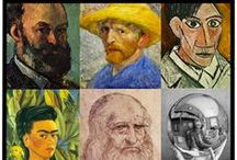 Teach Art - Famous Artist Projects / by Laurie P Cotros