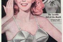 Propagandas lingerie vintage