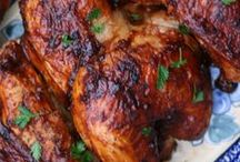 Poultry recipes: chicken, turkey, duck...anything with wings, feathers, a beak/bill...     ; )) / Poultry recipes I'd like to try