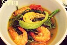Filipino soups and stews...comfort foods...