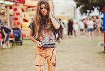 Festivals / Summer is just around the corner and the festival fashions are inspiring us. We love all the elements that revolve around these events. Looking specifically at Coachella, it is noted that the best fashion inspiration comes from here and any new trends are beautifully displayed through a variety of quirky styles.