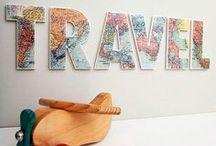Travel / Decoración a partir de objetos o recuerdos de viajes.