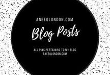 Blog Posts / All blog post visuals at aneeqlondon.com a modest lifestyle blog.