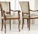 Chairs  - Scaune / Scaune din lemn masiv tapitate cu materiale speciale alese pentru a contura frumusetea casei tale