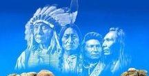 Indeas. Индейцы.