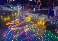 Dance Floor - Video Disco / Video Disco LED Dance floor.   Wedding. Corporate Events. Twinkling Dance Floor. Wedding Entertainment Wedding evening inspo inspiration. Video and Disco Dance Floor.  Virtual Events - Specialists in providing Dance Floors for Weddings, Parties, or Corporate Events. Why not browse our selection of inspirational images to help you discover what you can achieve for your evening entertainment!  Learn more! www.virtual-events.co.uk