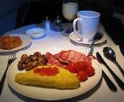 Airline Food and Drink / Experience the wide selection of food meals and drinks, perfectly suited to the time of day and length of your flight, served by some of the most popular airlines across the globe.