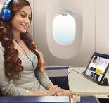 In-Flight Entertainment / Experience in-flight entertainment, whether you're watching on an airline touch screen or on your own device via the airline flight application