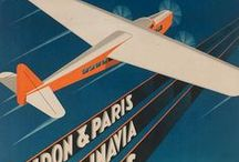 Airline Travel Posters / Airline travel posters from around the world that will inspire you to take that next trip