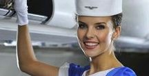 Beautiful Women of Aviation / From flight attendants, to airline pilots, to airline csa's, the beautiful women of the skies