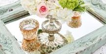 Easy to Create Centrepieces - Weddings / Inspired?  Dawn can help you source the items...save $$ DIY & create these simple to do gorgeous on trend centerpieces!