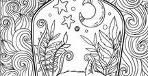 ✿ Adult coloring pages / Adult coloring pages | Printable coloring pages for grown ups