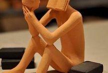 ✿ Sculptures   Dolls   Installations / Sculptures   Art Dolls   Installations