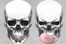 <raTTLin'☠ BonZ > / skulls & skeletons / by StePhaNie ReNee