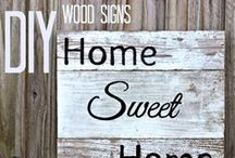 DIY Home / diy projects and tips / by Faithful with the little