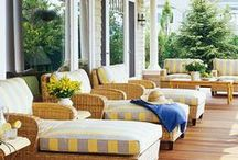 Design : Porches / make it a place you want to drink your coffee in the morning or your lemon aide in the afternoon...