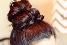 hair / Hair do tips, stylin' tricks, & inspiration.  / by christine danielle