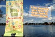 Epcot's Flower & Garden Festival / Epcot's Flower and Garden Festival at Walt Disney World   A celebration of spring and flowers and food!  Enjoy Disney Dining, special merchandise, and lots of F&G food!  Check out the menus, the activities the topiaries and food