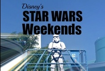 Star Wars at Walt Disney World / Star Wars has come to the Disney parks.   See special fireworks, parades, Jedi Training Academy, character meals, cupcakes and Star Wars Merchandise