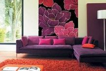 Color  / PURPLE-ORCHID / SHADES OF PURPLE any color having components of both red and blue, such as lavender, especially one deep in tone.