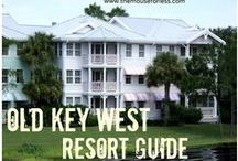 Disney's Old Key West Resort - A Deluxe Villa Resort at Walt Disney World / A Deluxe Villa Resort located near Epcot. Resort maps, discount codes, savings, information, room layout, resort guides, tips, fun facts, dining, menus, food, photos, room rates, vacation packages, recreation, pools, kid's activities, and other important information to help you plan your Disney vacation.  This resort has a Jimmy Buffet kind of feel and very relaxing.  It also has accommodations for larger parties.