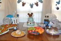 Mickey Mouse Parties! / Mickey Mouse baby shower or party ideas.